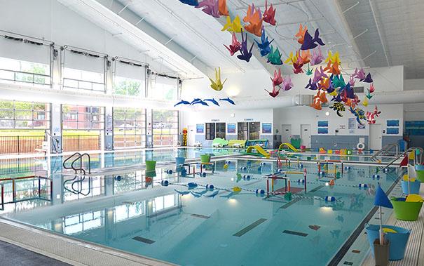 huntersville swim classes