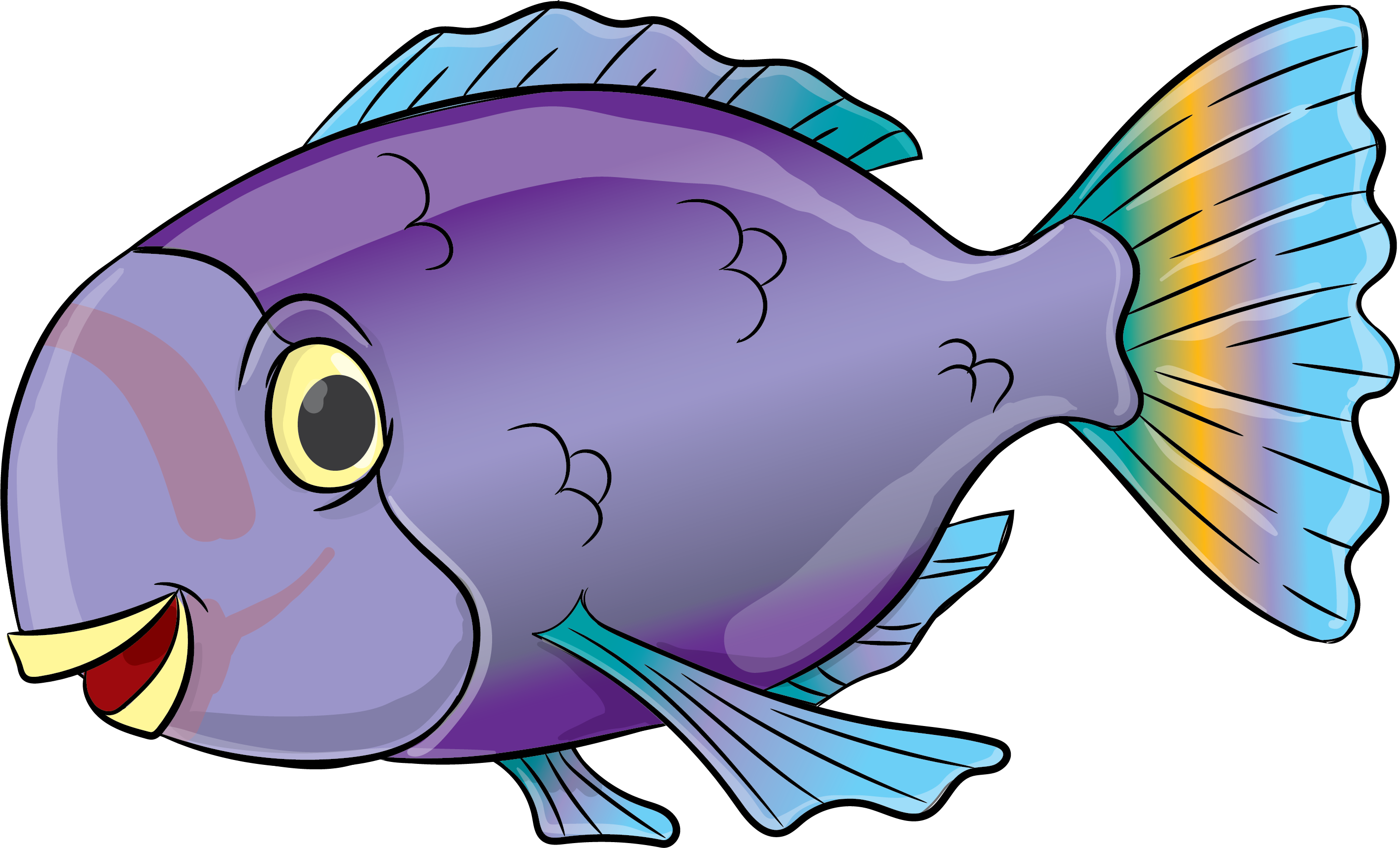 Purple Parrotfish - 3-5 Year Olds - Little Otter Swim School